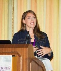 Melissa speaking