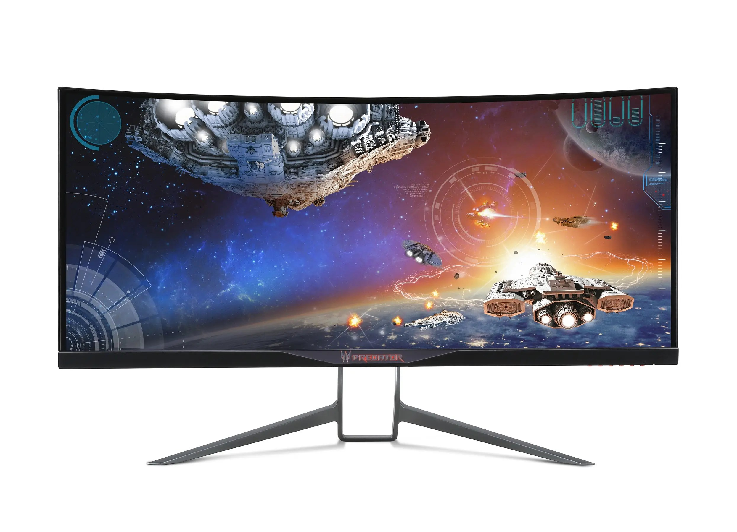 Acer Predator X34 Straight On Game
