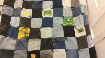 Recycle Old Jeans into Quilts