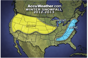 2012-2013 Winter Storm Forecast