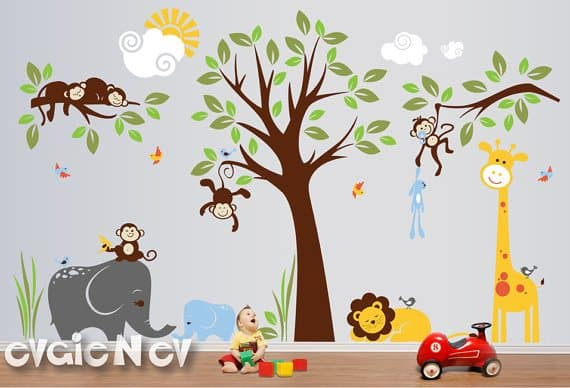 Win $150 To Spend On Customizable Wall Decals From EvgieNev