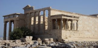 Roman Ruins of Athens, Greece