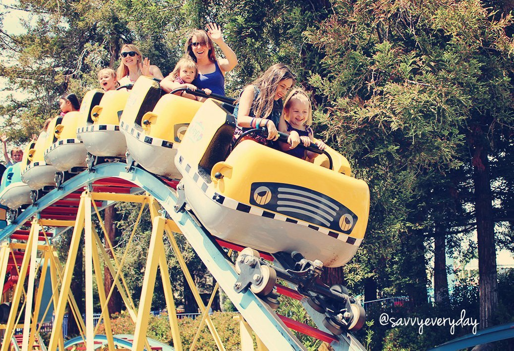 Visiting California's Great America With Kids