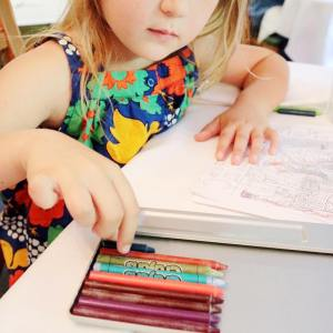 Whats your favorite year round activity? Ours is coloring hellip