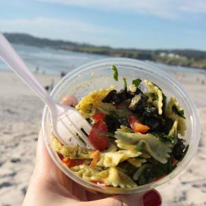No better place to eat this amazing pasta salad fromhellip
