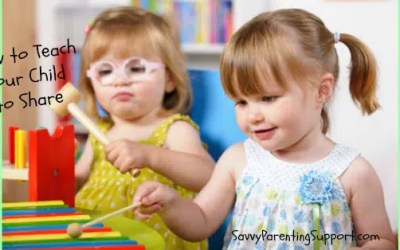 How to Model and Teach Sharing for Toddlers