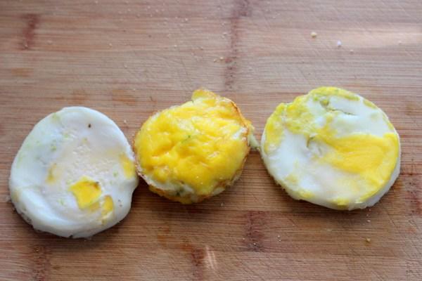 Crispy Prosciutto Avocado Egg McMuffins