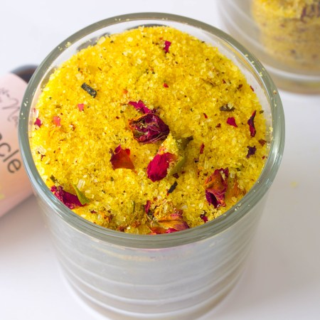Floral Orange Bath Salts