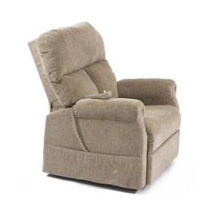 Pride D-30 Lift Chair Latte Seated