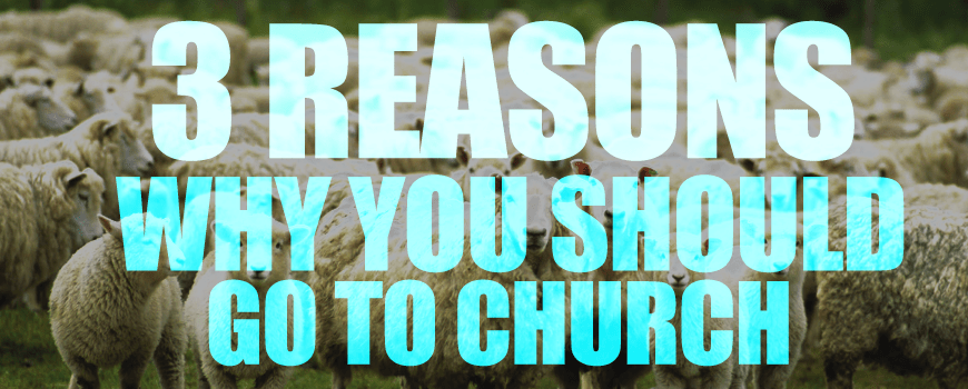 3 Reason you should give church a chance.