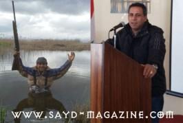 قصيدة الشاعر الصياد وليد شهلا عن حفلة قتل النورس في محيط مطار رفيق الحريري الدولي