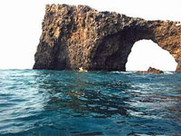 Arch at Anacapa Island