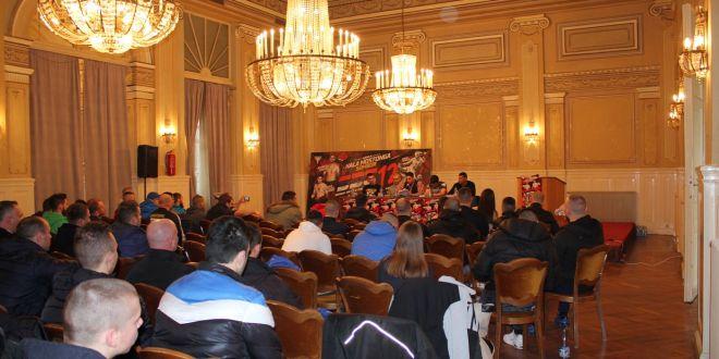 Zvanična konferencija za štampu i merenje boraca za SBC 12