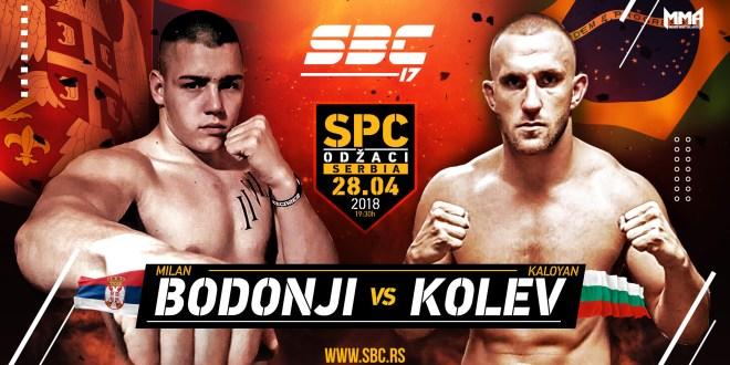 Novi protivnik za Milana Bodonjija na SBC 17 – Kaloyan Kolev!