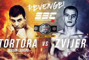 "SBC 21 – Revenge! Main Card / Jackson ""Tortora"" Loureiro vs Stefan Zvijer"