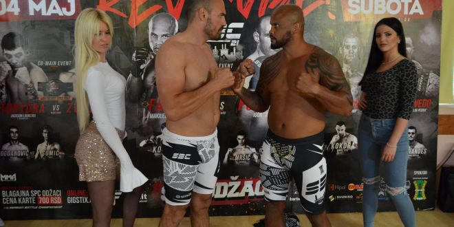 SBC 21 – Revenge!  – Press conference and official weigh-in results