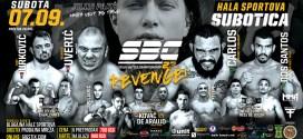 SBC 23 – Revenge!  07.09. Hala Sportova, Subotica