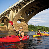 Kayaking on the Congaree River
