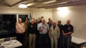 Veterans In Attendance at the Scale Squadron Meeting, Veterans Day 2013