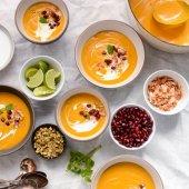 Roasted Butternut Coconut Soup | Scaling Back