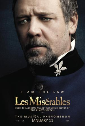 Les Miserables - Poster - Russell Crowe