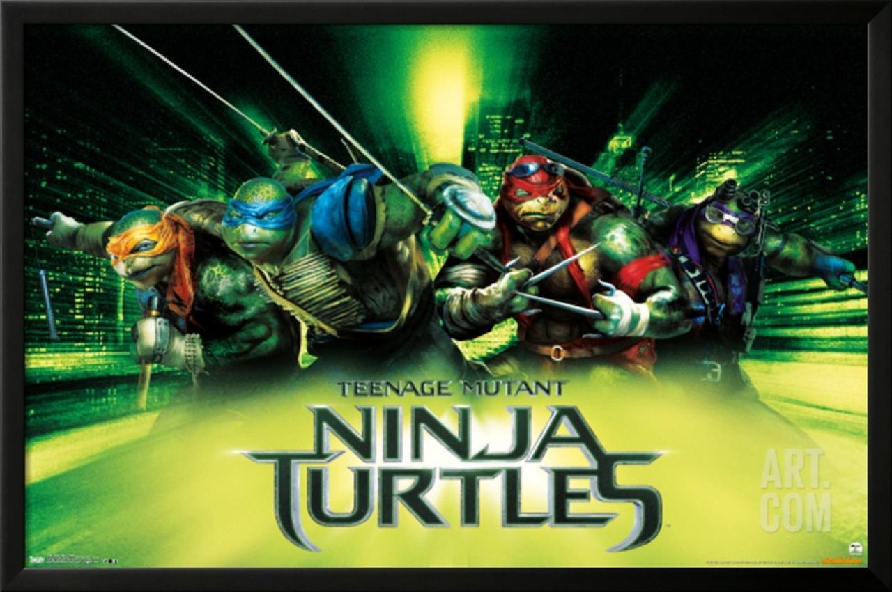 artistic set of posters for teenage mutant ninja turtlesscannain. Black Bedroom Furniture Sets. Home Design Ideas
