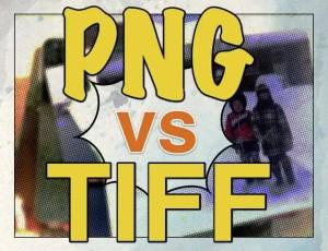 PNG vs TIFF File Graphic