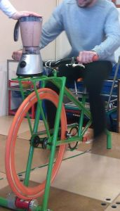 pedal a smoothie!
