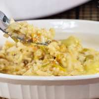Easy and Cheesy- Green Chile, Chicken and Rice Casserole