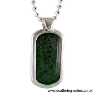memorial glass dog tag pendant sq