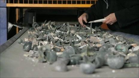 metal ashes cremation reclaim