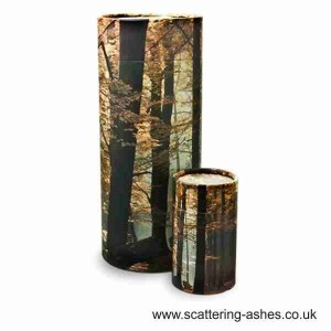 Cremation urns for scattering ashes