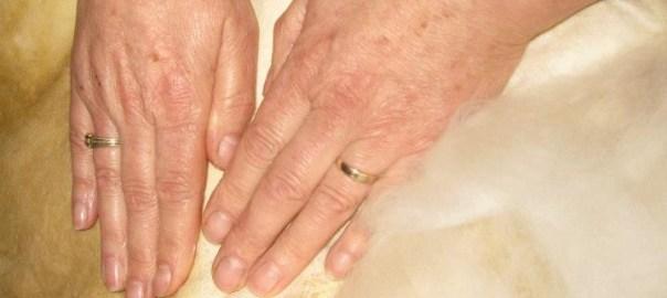 vilten handen