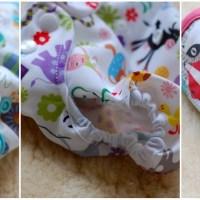 Neugeborenen-Überhosen: Blueberry Capri, Milovia und Rumparooz