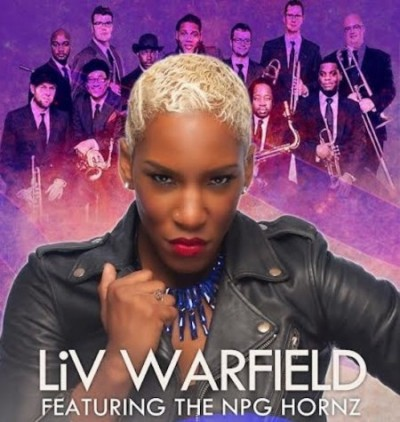 Liv Warfield & The NPG Hornz à Montreux et tournée des festivals