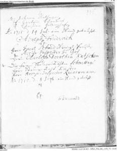 Doop Schmidt 1715 07 14 Adolph Friederich Kleef