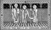 Saints Denys, Rustique & Eleuthère