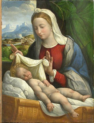 Benvenuto_Tisi-Garofalo-Baby_Jesus_Sleeping
