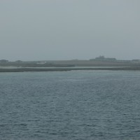 Arrivée en ferry en vue de Papa Stronsay