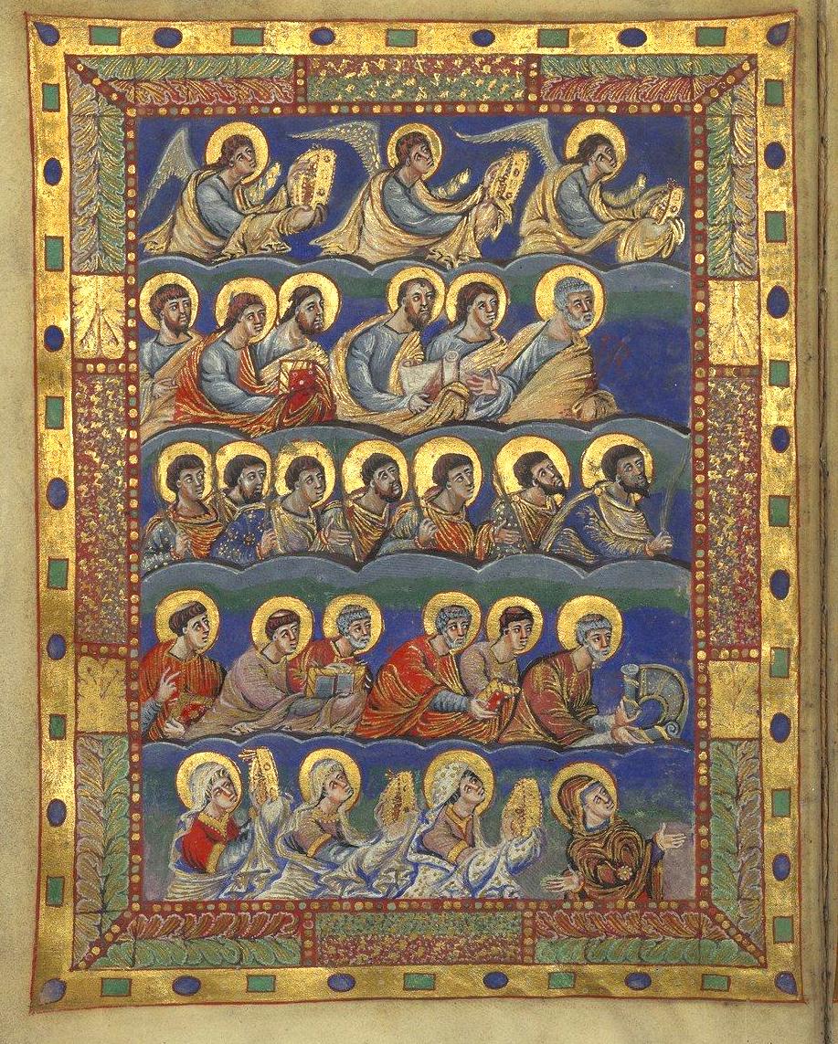 Le Sacramentaire de Charles le Chauve (IXème siècle)