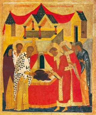 Programme du VIème dimanche après la Pentecôte - Déposition aux Blachernes du précieux vêtement de la Mère de Dieu - ton 5