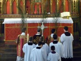 Rameaux 2014 - 10 - la procession se forme