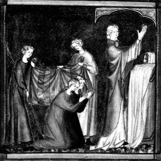 Décret de Gratien - France, XIVème siècle - Bibliothèque apostolique vaticane, ms lat 1370, fol 247v°