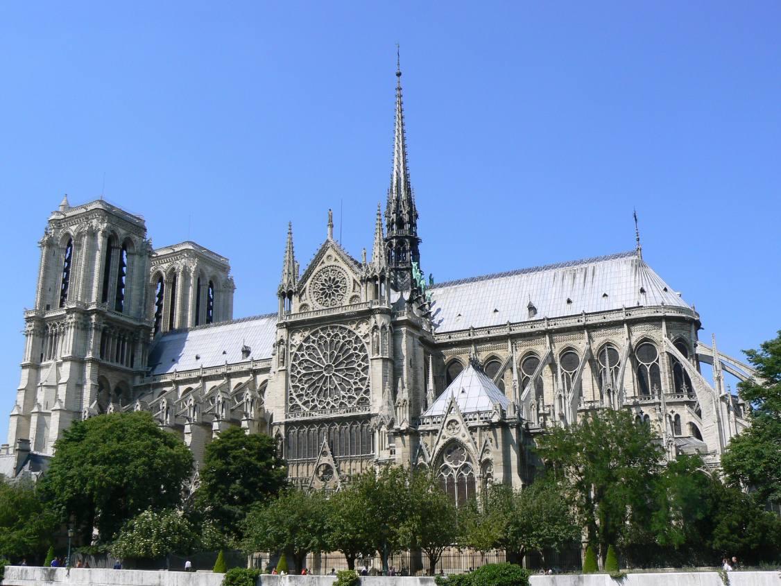 Messe traditionnelle à Notre-Dame de Paris le 17 juin 2008
