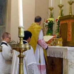 03 - 10 novembre 2013 - messe ambrosienne traditionnelle à San Rocco al Gentilino