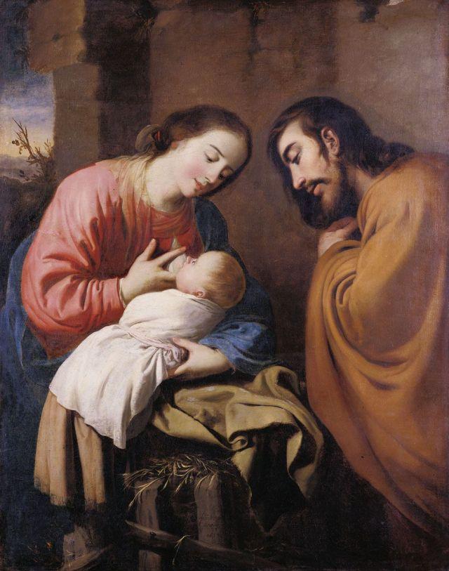 Francisco de Zurbaran, la Sainte Famille