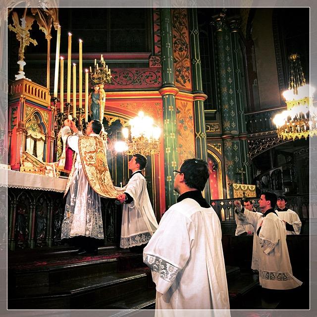 Saint Joseph 2015 - A l'élévation du Corps du Seigneur