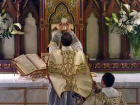 11 - Jeudi Saint 2015 - à l'élévation du Corps du Seigneur