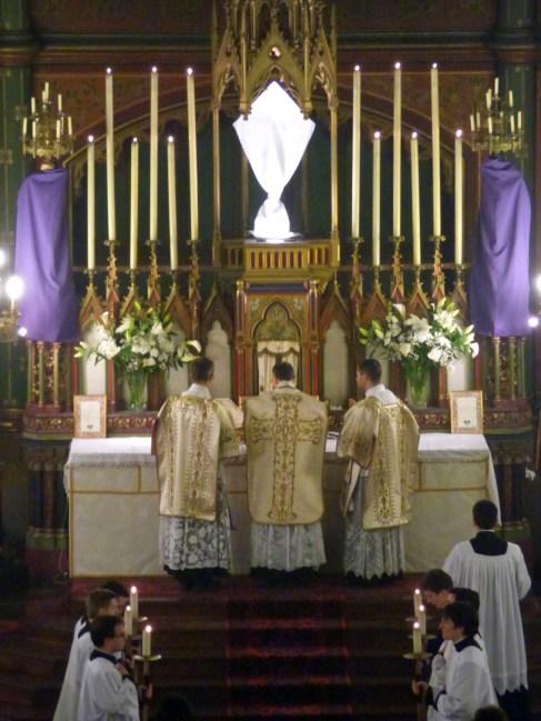 13 - Jeudi Saint 2015 - avant la communion