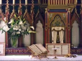 19 - Jeudi Saint 2015 - pendant la communion des fidèles
